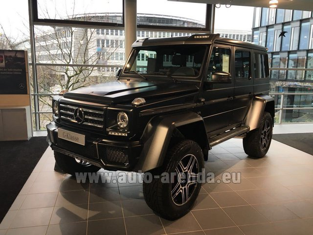 Rental Mercedes-Benz G-Class G 500 4x4² V8 in Rumelange