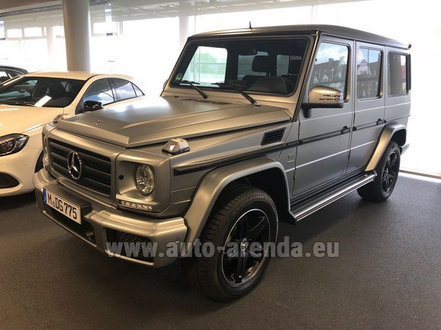 Rental Mercedes-Benz G-Class G 500 Limited Edition in Luxembourg