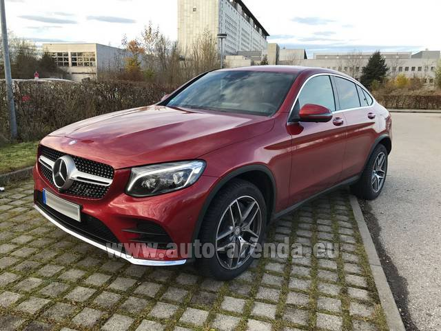 Rental Mercedes-Benz GLC Coupe in Dudelange