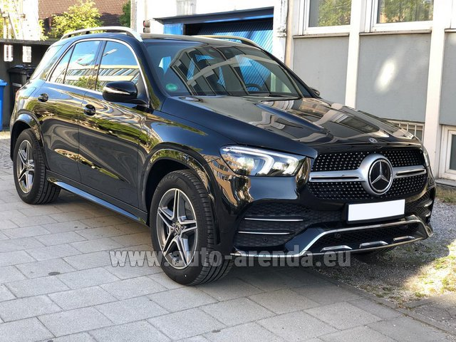 Rental Mercedes-Benz GLE 400 4Matic AMG equipment in Luxembourg