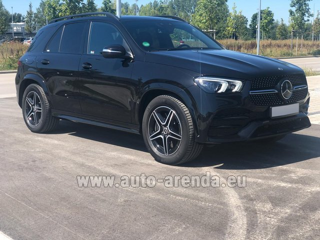 Прокат Мерседес-Бенц GLE 450 4MATIC AMG комплектация в Дикирхе