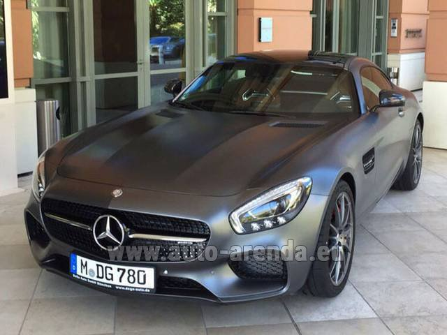 Rental Mercedes-Benz GT-S AMG in Dudelange