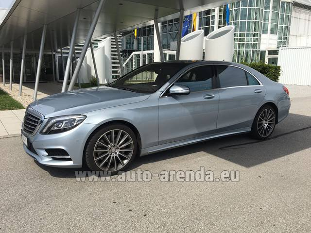 Rental Mercedes-Benz S 350 L BlueTEC 4MATIC AMG in Dudelange