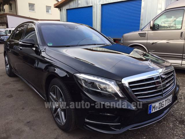 Rental Mercedes-Benz S 350 L BlueTEC AMG in Ettelbruck