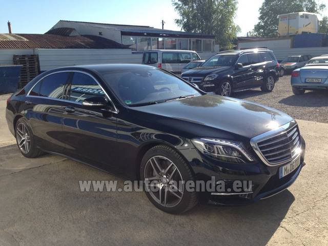 Rental Mercedes-Benz S 350 L BlueTEC AMG in Dudelange