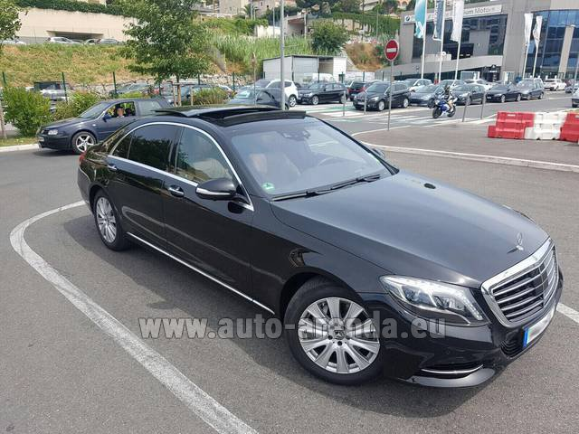 Rental Mercedes-Benz S 350 Long AMG in Ettelbruck