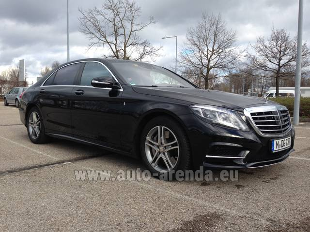 Rental Mercedes-Benz S 350 Long Diesel 4x4 AMG in Ettelbruck