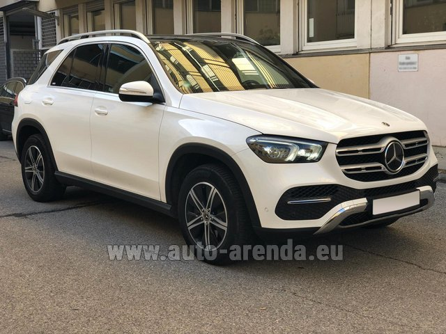 Rental Mercedes-Benz GLE 350 4Matic AMG equipment in Luxembourg City