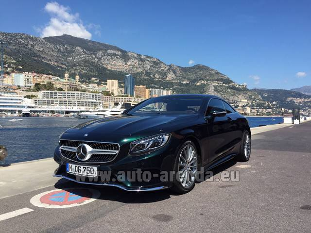 Rental Mercedes-Benz S 500 Coupe 4Matic 7G-TRONIC AMG in Esch-sur-Alzette