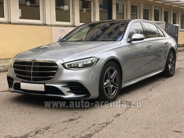 Rental Mercedes-Benz S-Class S 400 Long 4Matic Diesel AMG equipment in Wiltz