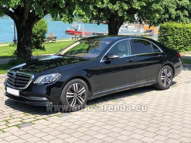 Rental Mercedes-Benz S-Class S400 Long 4Matic Diesel AMG equipment in Luxembourg City