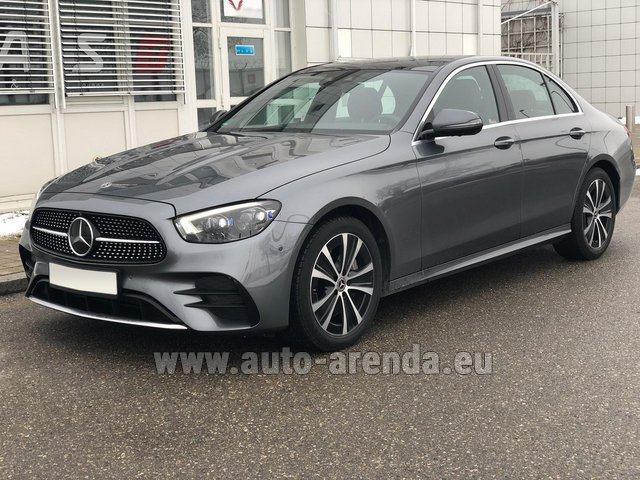 Rental Mercedes-Benz E400d 4MATIC AMG equipment in Luxembourg