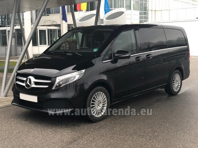 Rental Mercedes-Benz V-Class (Viano) V 300 d 4MATIC AMG equipment in Wiltz
