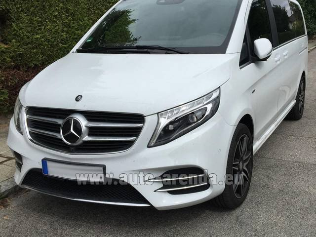Rental Mercedes-Benz V-Class (Viano) V 250 D 4Matic AMG Equipment in Wiltz