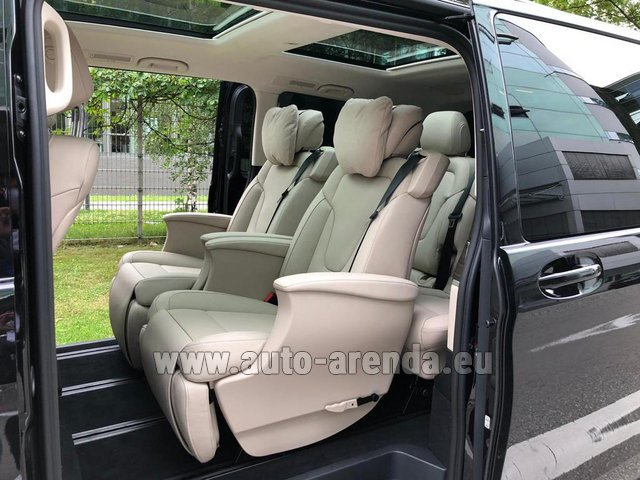 Прокат Мерседес-Бенц V300d 4MATIC EXCLUSIVE Edition Long LUXURY SEATS AMG Equipment в Люксембурге