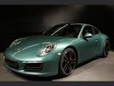 Rent-a-car Porsche 911 991 4S Racinggreen Individual Sport Chrono in Luxembourg, photo 1