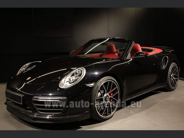 Rental Porsche 911 991 Turbo Cabrio S LED Carbon Sitzbelüftung in Diekirch
