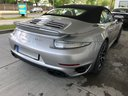 Rent-a-car Porsche 911 991 Turbo S in Luxembourg, photo 2