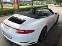 Rent-a-car Porsche 911 Carrera Cabrio White in Ettelbruck, photo 2