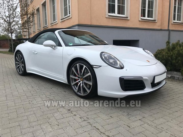 Rental Porsche 911 Carrera 4S Cabrio in Diekirch