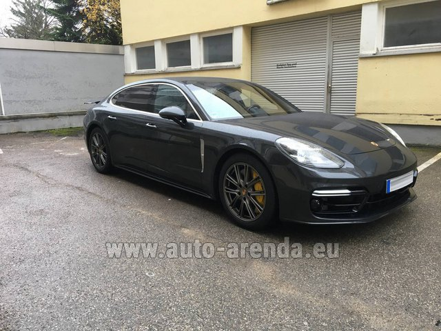 Rental Porsche Panamera Turbo Executive in Rumelange