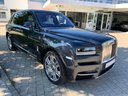 Rent-a-car Rolls-Royce Cullinan dark grey with its delivery to Luxembourg Findel Airport, photo 1