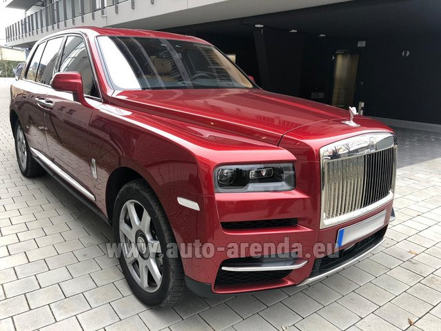 Rental Rolls-Royce Cullinan in Luxembourg City