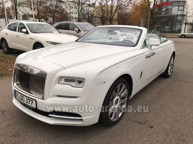 Rental Rolls-Royce Dawn in Differdange