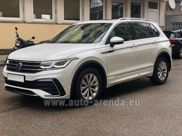 Rental Volkswagen Tiguan R Line 2.0 TSI 333 hp in Diekirch