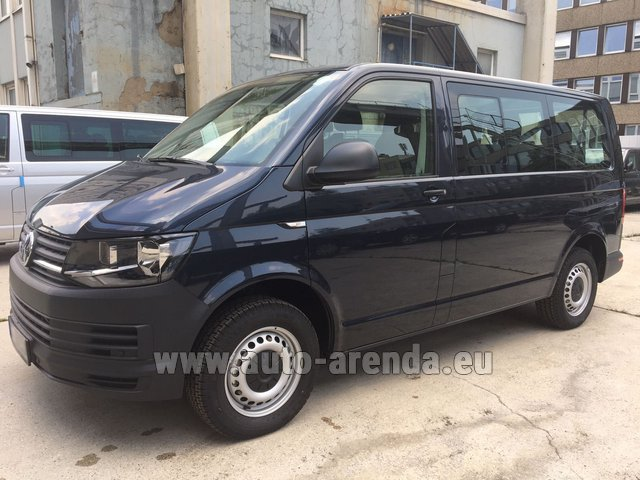Hire and delivery to Luxembourg Findel Airport the car Volkswagen Transporter T6 (9 seater)